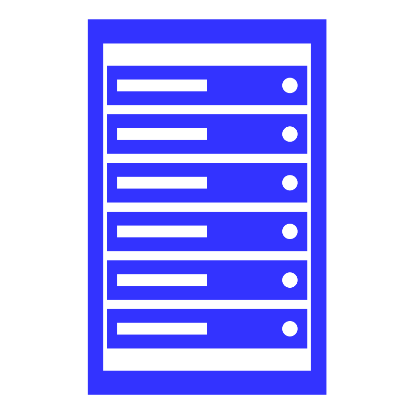 IT rack icon