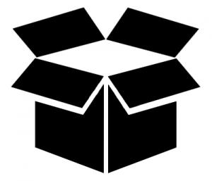 boîte ouverte matériel réseau seconde main