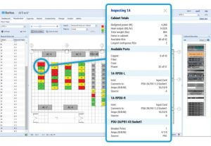 IT datacenter inventory view page