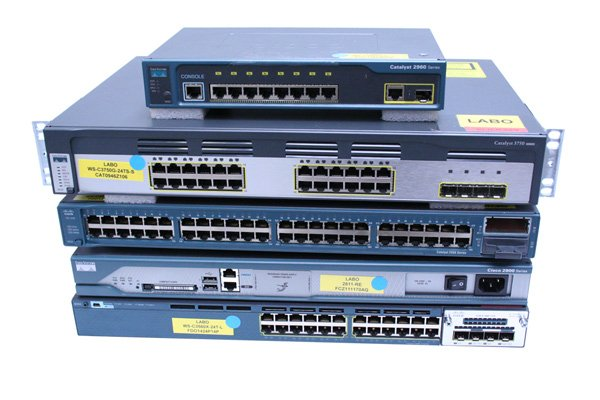cisco switches refurbished empilés