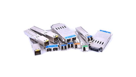 different SFP module types